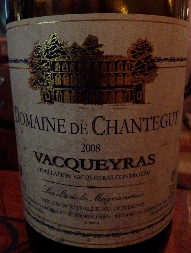 Domaine_Chantegut_2008_Vacqueyras