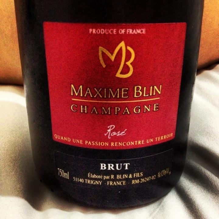 Champagne_Maxime_Blin_Rosé