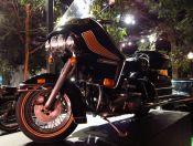 Harley-Davidson Electra-Glide 1976 Foto: Evandro Silva